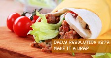 Today's Resolution: Make It a Wrap